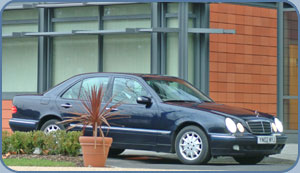 Picture of A. Mercedes E Class saloon car